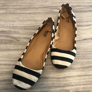 Mossimo Nautical Theme Stripe Flats, Size 7